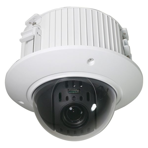 12X Elite Starlight 2MP Indoor Flush Mount IP PTZ Security Camera with True WDR