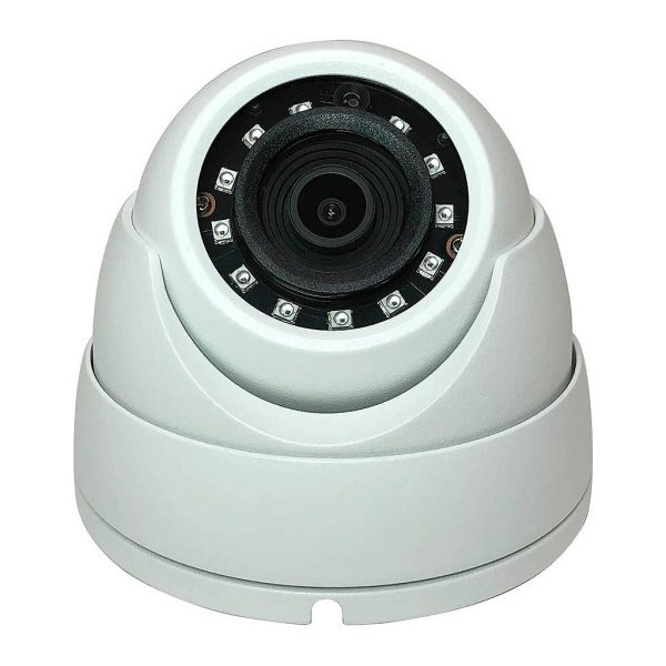 4MP Elite Economy IP Network Dome Metal Housing Security Camera 2.8mm Lens