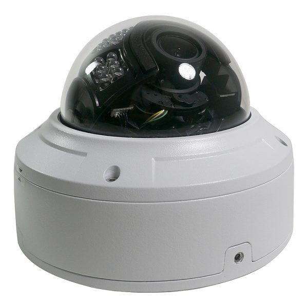 5MP Sibell IP Motorized Zoom Vandal Dome Security Camera w/ IR and 2 Way Audio