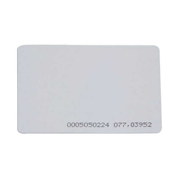 DX Series Credit Card Size 125KHz Access Control Cards