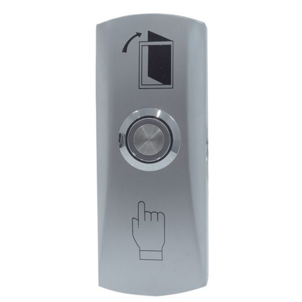 DX Series Small Zinc Alloy Luminous Exit Button w/ Back Box