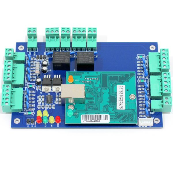 DX Series Two Door TCP/IP Web Server Controller