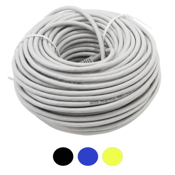 100ft Prefabricated CAT6 Plug and Play Cable