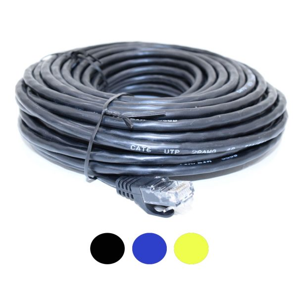 50ft Prefabricated CAT6 Plug and Play Cable