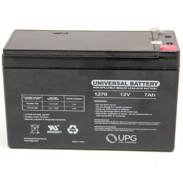 Battery Backups 7 AH @ 12 Volt
