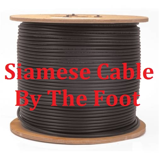 Siamese Cable By The Foot