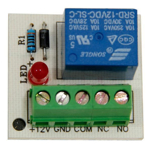 Single External Relay