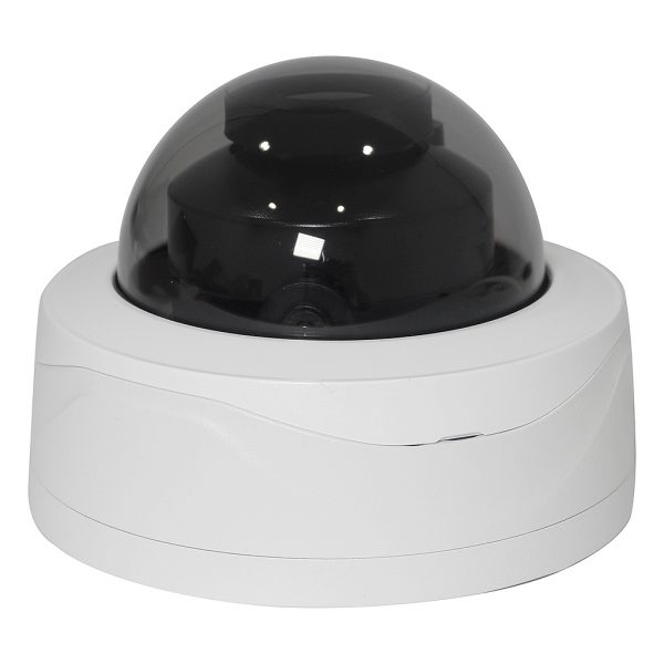4MP Elite IP Network Vandal Dome Camera with Motorized Zoom Lens