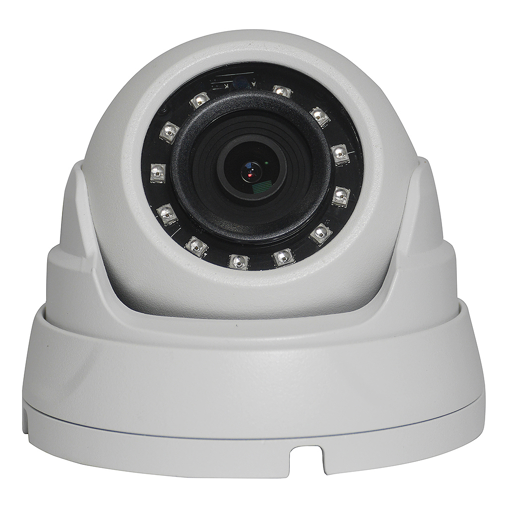 Elite 2MP 2.8mm 4-in-1 Starlight™ Eyeball Dome Camera W/ Audio