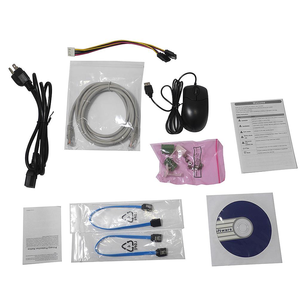 16 Channel 4K E Series NVR W/ 16 PoE Ports